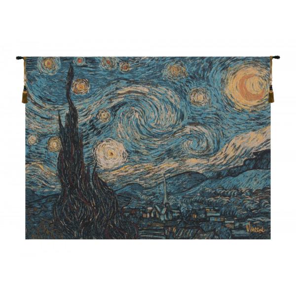 Купить Гобелен Звездная ночь (Ван Гог)