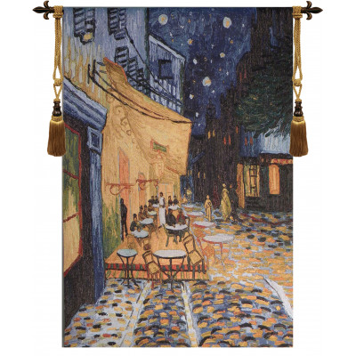 Купить Гобелен Кафе на террасе в ночи