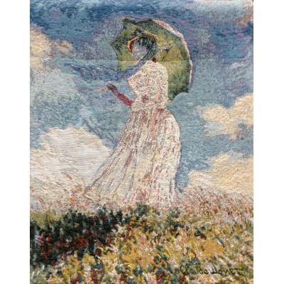 Гобелен Дама с зонтом
