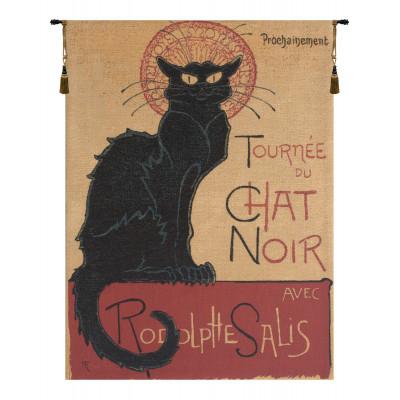 Гобелен Черная кошка