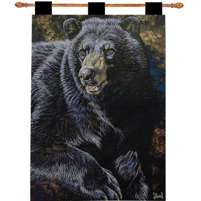 Гобелен Черный медведь