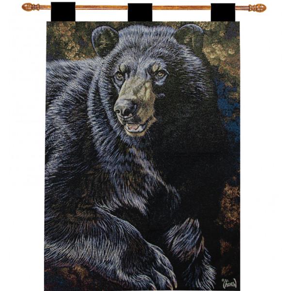 Купить Гобелен Черный медведь