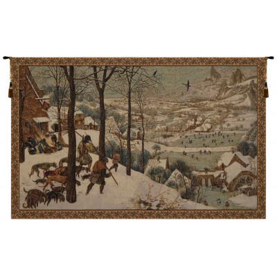 Купить Гобелен Охотники в снегу