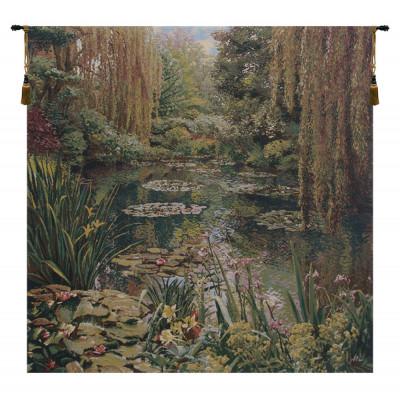 Гобелен Моне в саду (без границы)