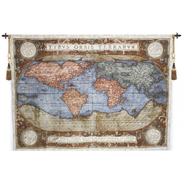 Купить Гобелен Карта мира II