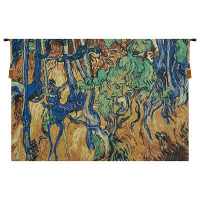 Гобелен Корни деревьев и стволы