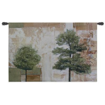 Гобелен Деревья на пергаменте