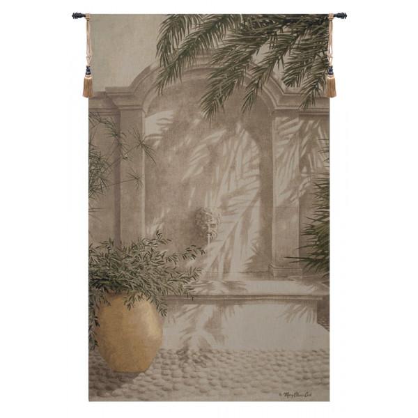 Купить Гобелен Урна и фонтан