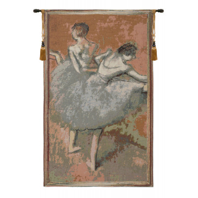 Гобелен Пластичные балерины (Зеленый)
