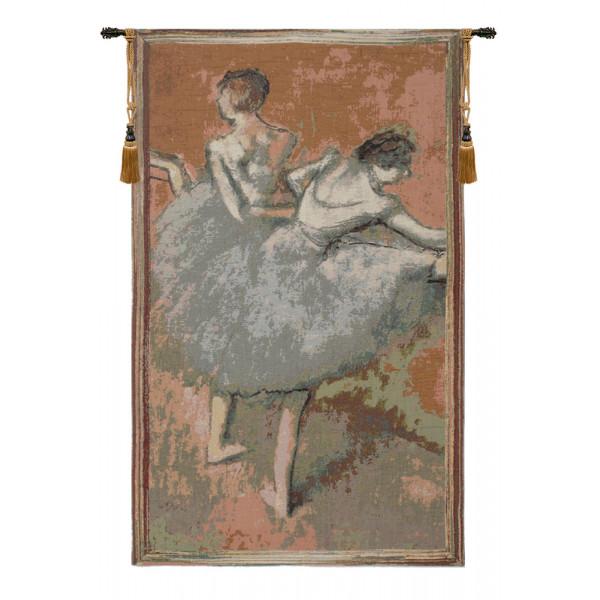 Купить Гобелен Пластичные балерины (Зеленый)