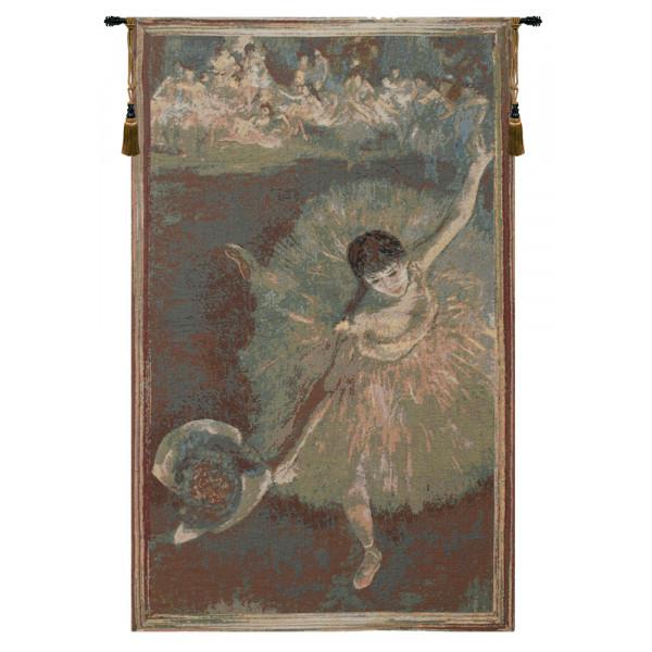 Купить Гобелен Балерина  (Зеленый)