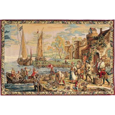 Купить Гобелен Прибытие в порт