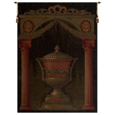 Гобелен Древняя ваза II (черный)