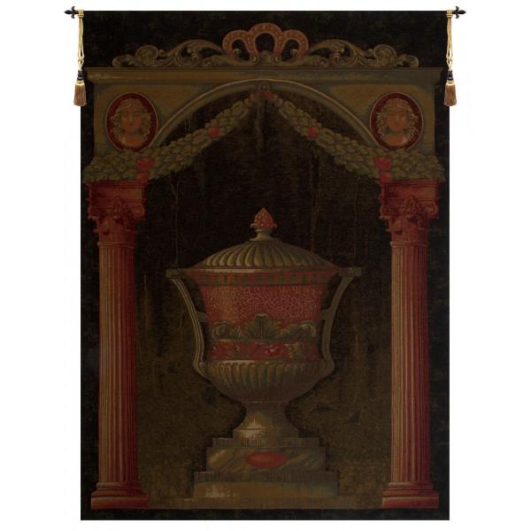 Купить Гобелен Древняя ваза II (черный)