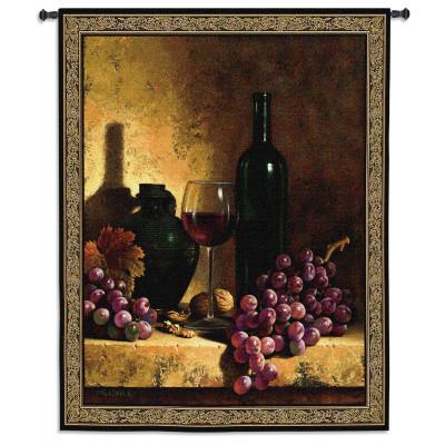 Гобелен Вино и виноград