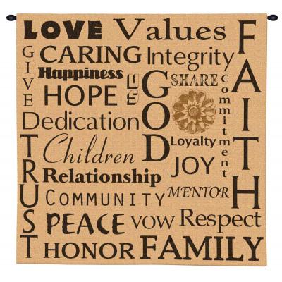 Купить Гобелен Семейные ценности