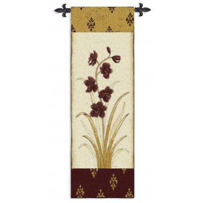 Купить Гобелен Орхидеи I (бордо)