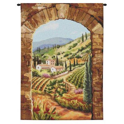 Купить Гобелен Виноградники Тосканы