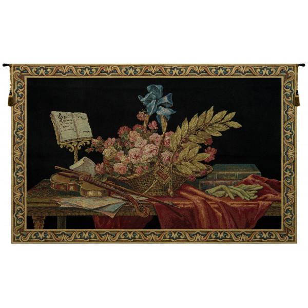 Гобелен Скрипка и Цветы