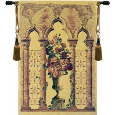 Гобелен Цветочные урны с колоннами