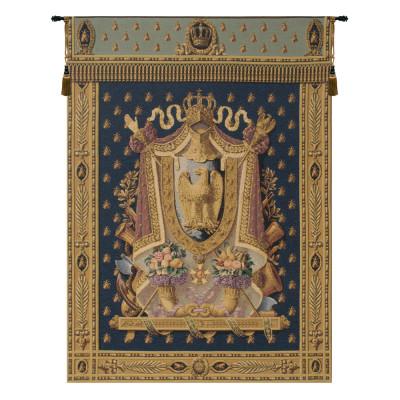 Купить Гобелен Герб Наполеон (синий)