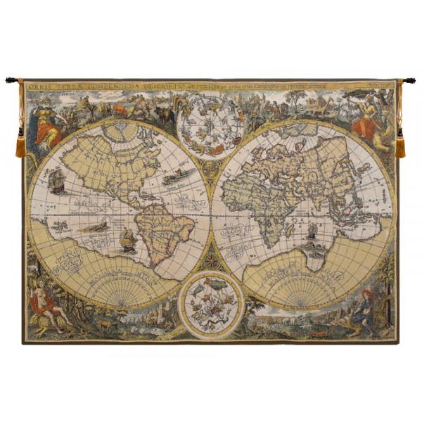 Купить Гобелен Карта земли