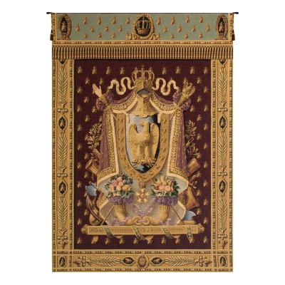 Купить Гобелен Герб Наполеон (бордо)