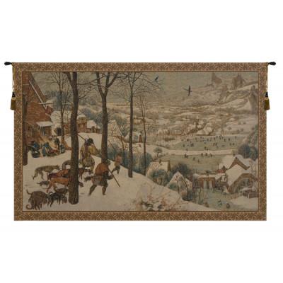 Гобелен Охота в снегу