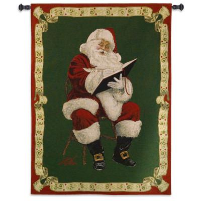 Гобелен Санта Клауса отмечает праздник