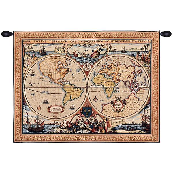 Купить Гобелен Морская карта
