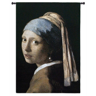 Гобелен Девушка с жемчужными сережками