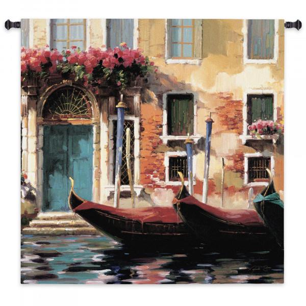 Купить Гобелен Венецианские гондолы I