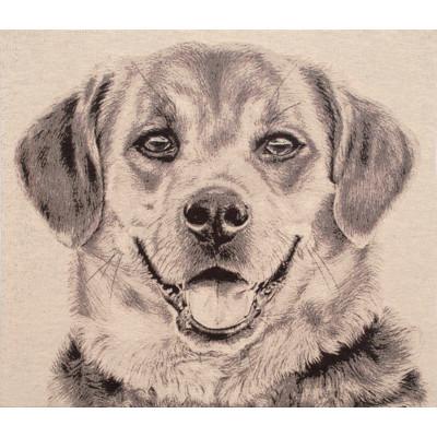 Гобелен Счастливая собака