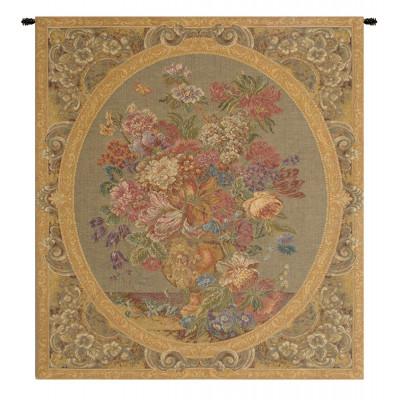 Гобелен Цветочная композиция в вазе (крем)