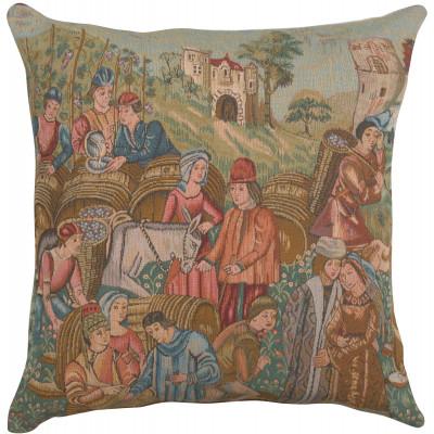 Подушка декоративная Винный базар II