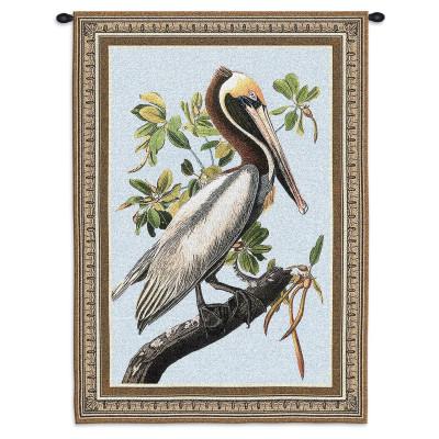 Гобелен Коричневый пеликан