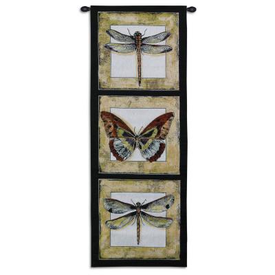 Купить Гобелен Бабочка и стрекозы II