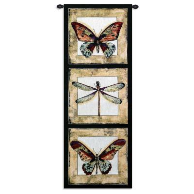 Купить Гобелен Бабочки и стрекоза I