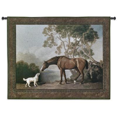 Купить Гобелен Лошадь и собака