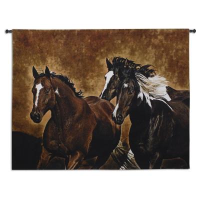 Гобелен Бег лошадей