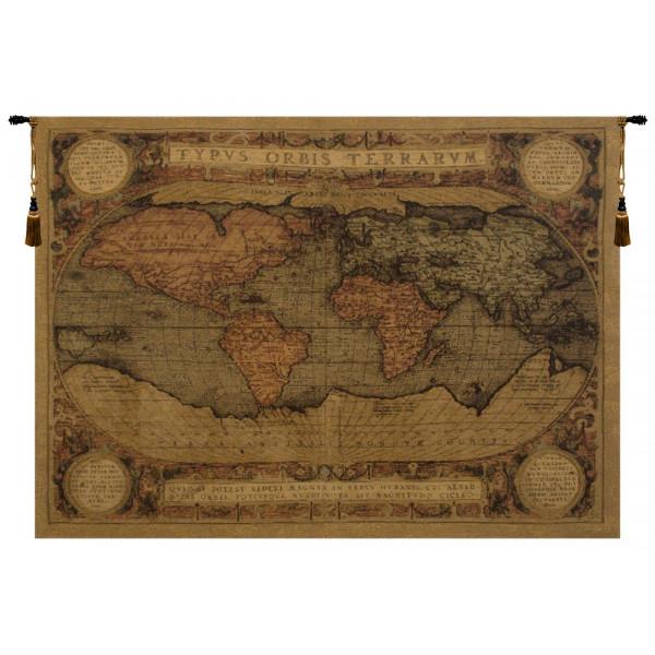 Купить Гобелен Античная карта
