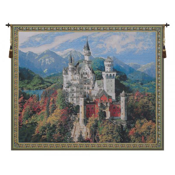 Купить Гобелен Замок Нойшванштайн (Яркий)
