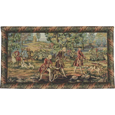 Гобелен Охота Людовика XV