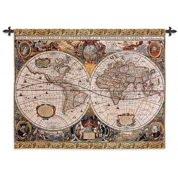Купить Гобелен Антикварная карта