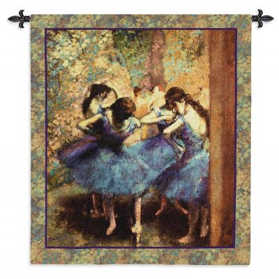 Гобелен Танцоры в синем