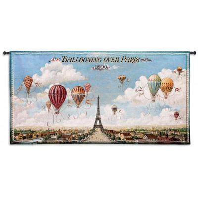 Купить Гобелен Воздушная прогулка над Парижем