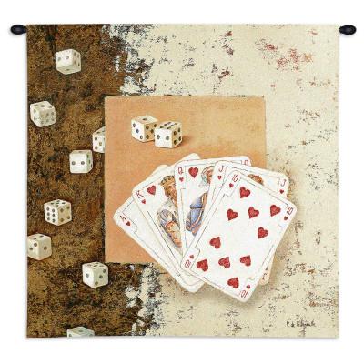 Купить Гобелен Игральные карты