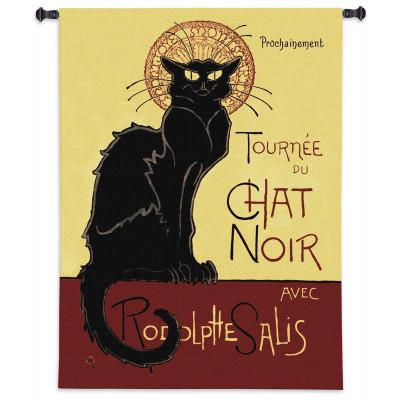 Гобелен Tурне чат Noir