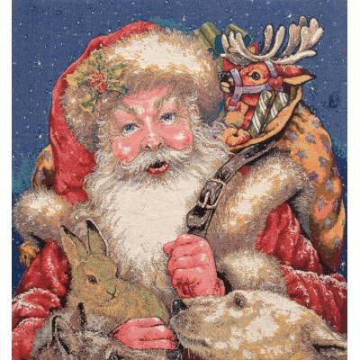 Гобелен Санта-Клауса прибытие