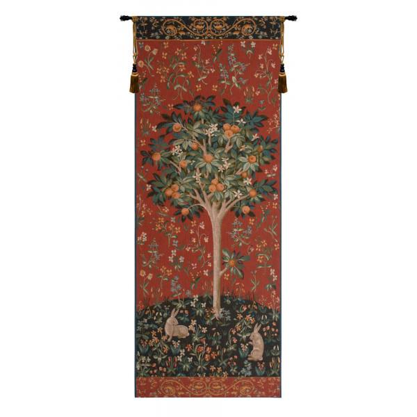 Гобелен Апельсиновое дерево (красный)